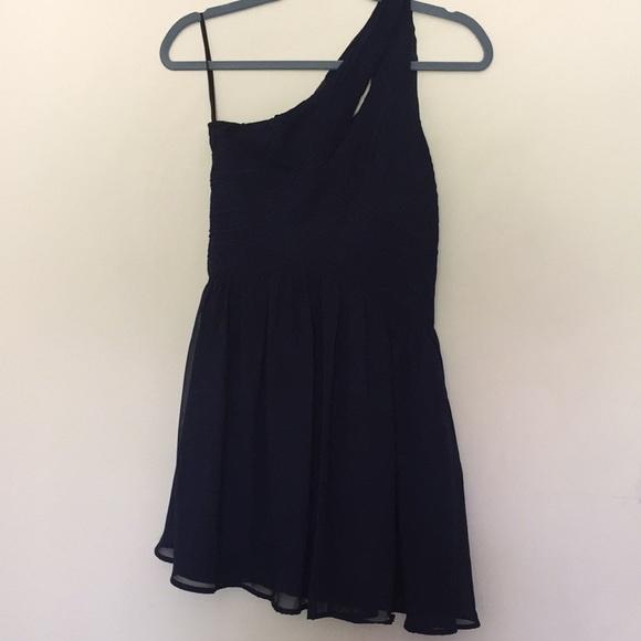 7eae73dedcc0 Minuet Petite Dresses | Dillards Short One Shoulder W Slit Formal ...